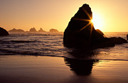Bandon Golden Moment Print by Inge Johnsson