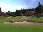 Four Fifteen Prints - Bandon Trails Hole #15 Print by Scott Carda