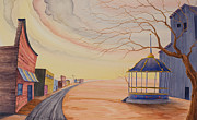 Great Plains Art - Bandstand by Scott Kirby