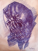 The Dark Knight Drawings - Bane by Karkeng