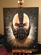 Dark Knight Rises Paintings - Bane by Six Artist