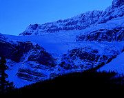 Canadian Rockies Prints - Banff - Crowfoot Glacier 2 Print by Terry Elniski