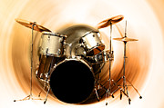 Drum Kit Prints - Bang on the Drum All Day Print by Bill Cannon