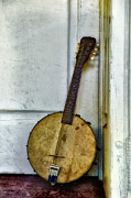 Bill Cannon Framed Prints - Banjo Mandolin - Folk Music Framed Print by Bill Cannon
