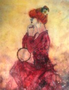 Model Painting Originals - Banjo On My Knee by John YATO