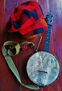 Dale Michels Framed Prints - Banjo still life Framed Print by Dale Michels