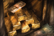 Golden Art - Banker - My Precious  by Mike Savad