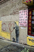 Tom Barrett - Banksy Image Chinatown...