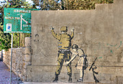 David Birchall - Banksy in Bethlehem