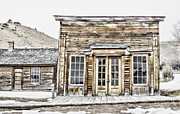 Bannack State Park Photos - Bannack Assay Office by Fran Riley