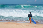 Eric Evans - Banzai Pipeline Aqua...