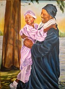 Baptism Painting Originals - Baptism New Life by Carole Powell
