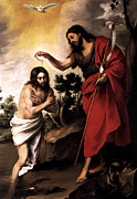Esteban Murillo - Baptism of Jesus Christ