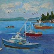 Francine Frank - Bar Harbor Lobster Boats