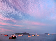 Bar  Harbor Framed Prints - Bar Harbor Sunset Framed Print by Juergen Roth