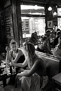 Meeting. Point Framed Prints - Bar in El Raval Framed Print by Lluis Ripoll