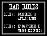 Jaime Friedman - Bar Rules