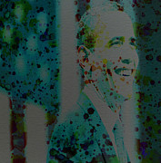 Barack Obama Print by Brian Reaves