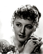 Release Digital Art Framed Prints - Barbara Stanwyck Framed Print by Studio Release