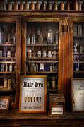 Barber - Hair Dye Print by Mike Savad
