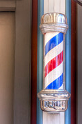Poll Art - Barber Pole by Steve Sturgill