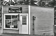 Ron Roberts Photography Posters - Barber Shop Poster by Ron Roberts