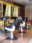Profession - Barber - Barber - Small Town Barber Shop by Susan Savad