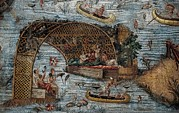 Technical Photos - Barberini Mosaic Or Nile Mosaic by Everett