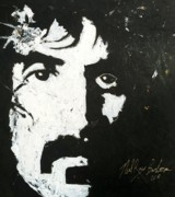 Frank Zappa Prints - Barbosa Paints Zappa Print by Neal Barbosa