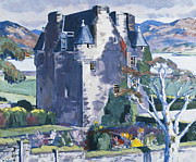 Barcaldine Castle Print by Francis Campbell Boileau Cadell