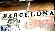 Barcelona Mixed Media Prints - Barcelona Print by Lauranns Etab