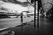 Nord Prints - Barcelona nord bus station  Catalonia Spain Print by Joe Fox