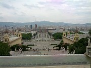 Shesh Tantry - Barcelona-view from the magical fountain