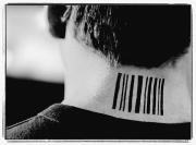 Barcode Prints - Barcode Tattoo Print by Kelly Redinger