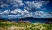Finger Lakes Photo Originals - Bare Hill along Canandaigua Lake by Steve Clough