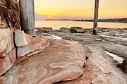 La Perouse Bay Prints - Bare Island Sunset Print by Zaw  Wai