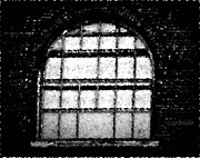Window Bars Prints - Bared Arch Print by Chris Berry