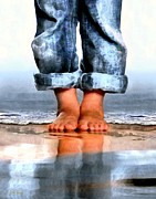 Dale Ford Art - Barefoot Boy   by Dale   Ford