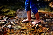 Tara Potts - Barefoot in the Creek