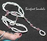 Featured Jewelry - Barefoot Sandals 3 by Karen Devonne Douglas