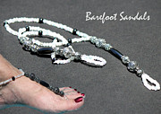 Featured Jewelry - Barefoot Sandals 5 by Karen Devonne Douglas
