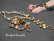 Featured Jewelry - Barefoot Sandals 6 by Karen Devonne Douglas