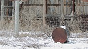 Old Rustic Barn And Barrel Photos - Barn #38 by Todd Sherlock