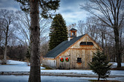 Cabin Window Photos - Barn 7078 by Tricia Marchlik