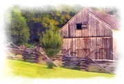 Dave Hrusecky - Barn and fence