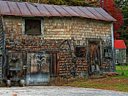 Tin Roof Posters - Barn Art Poster by Marcia Lee Jones