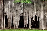 Barn Boards - Rustic Decor Print by Gary Heller