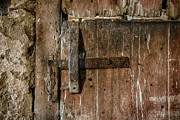 Rustic Barn Interior Art - Barn Door by John Greim