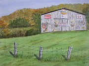 Jerry Zelle - Barn in the Smokies