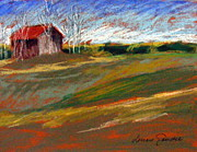 Lenore Gaudet - Barn on Patten Hill